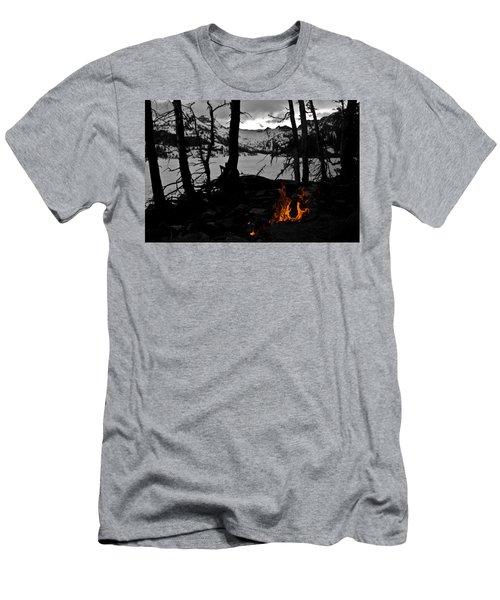 Campfire Men's T-Shirt (Athletic Fit)