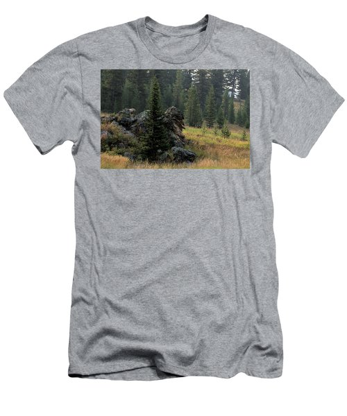 Campground Springs Men's T-Shirt (Athletic Fit)