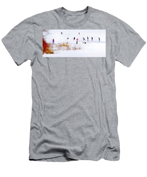 Men's T-Shirt (Athletic Fit) featuring the photograph Canadiana by John Poon