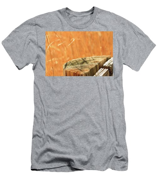 Cantigny Fence Post Men's T-Shirt (Athletic Fit)