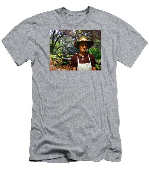 Canyon Woman Men's T-Shirt (Slim Fit) by Timothy Bulone
