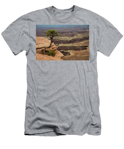 Men's T-Shirt (Athletic Fit) featuring the photograph Canyonlands by Gary Lengyel