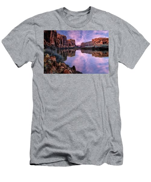 Canyonlands Sunset Men's T-Shirt (Athletic Fit)