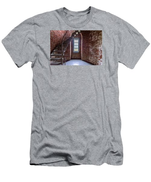 Cape Blanco Lighthouse Men's T-Shirt (Athletic Fit)