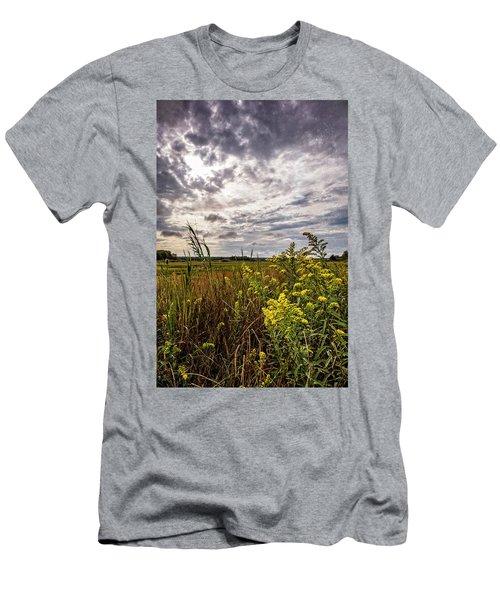 Cape Cod Marsh 4 Men's T-Shirt (Slim Fit)