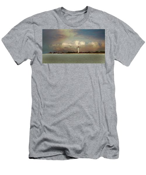 Cape May Lighthouse II Men's T-Shirt (Athletic Fit)