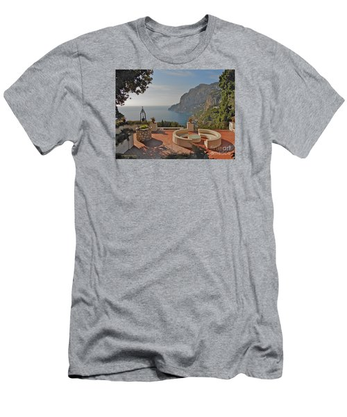 Capri Panorama Men's T-Shirt (Athletic Fit)