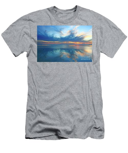 San Elijo Sky Men's T-Shirt (Athletic Fit)