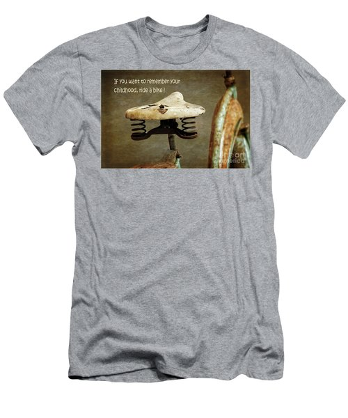 Carefree Summer Days On My Bike Men's T-Shirt (Athletic Fit)