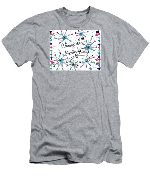 Caregivers Rock Men's T-Shirt (Athletic Fit)