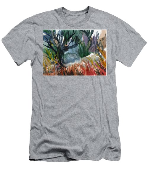 Caribbean Stroll Men's T-Shirt (Athletic Fit)