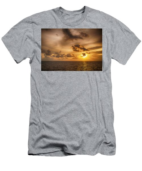 Caribbean Sunrise Men's T-Shirt (Athletic Fit)
