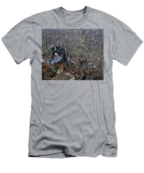 Caring For A Profit Men's T-Shirt (Athletic Fit)