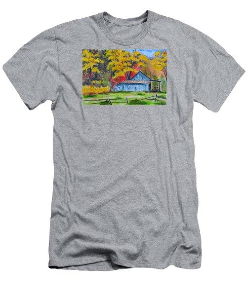 Carolina Barn Men's T-Shirt (Athletic Fit)