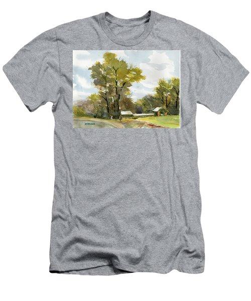 Carolina Farm Field Men's T-Shirt (Athletic Fit)