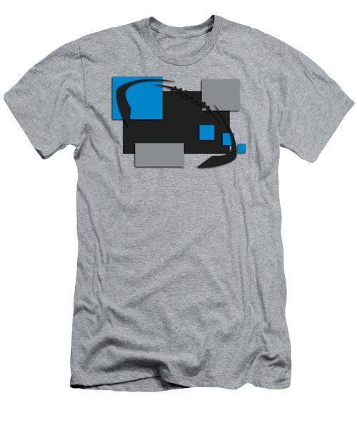 Carolina Panthers Abstract Shirt Men's T-Shirt (Athletic Fit)