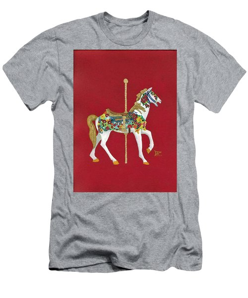 Carousel Horse #2 Men's T-Shirt (Athletic Fit)