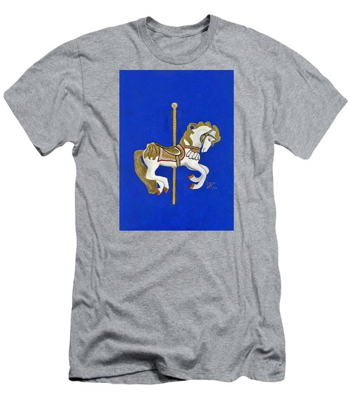 Carousel Horse #3 Men's T-Shirt (Athletic Fit)