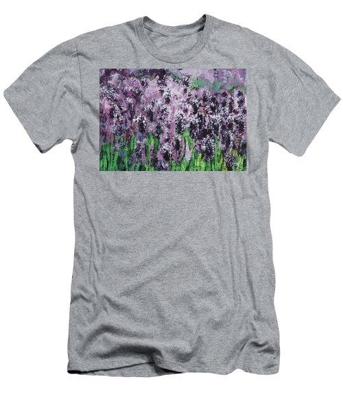 Carpet Of Lavender Men's T-Shirt (Athletic Fit)