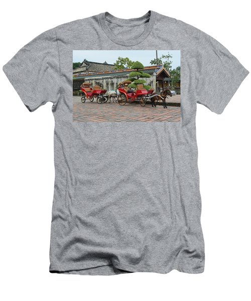 Carriage Rides Men's T-Shirt (Athletic Fit)