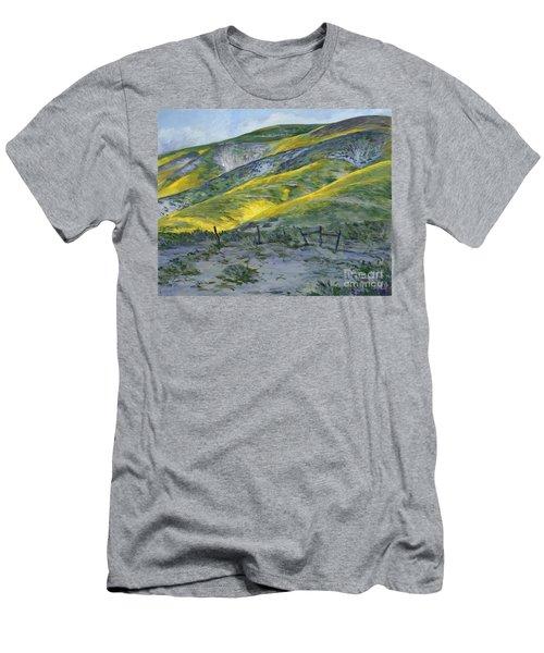 Carrizo Spring Mustard Men's T-Shirt (Athletic Fit)