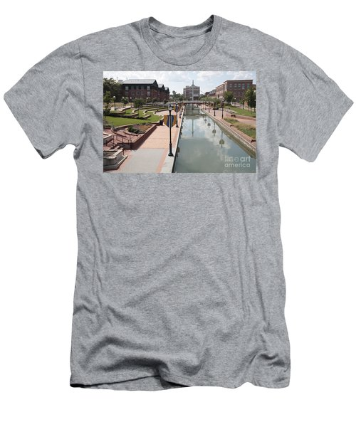Carroll Creek Park In Frederick Maryland Men's T-Shirt (Athletic Fit)