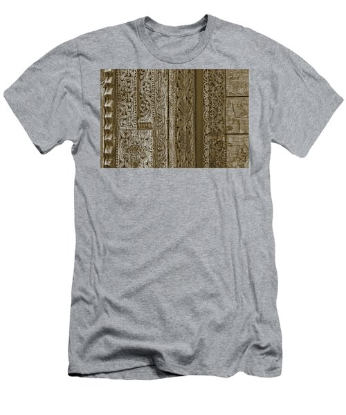 Carving - 1 Men's T-Shirt (Slim Fit) by Nikolyn McDonald