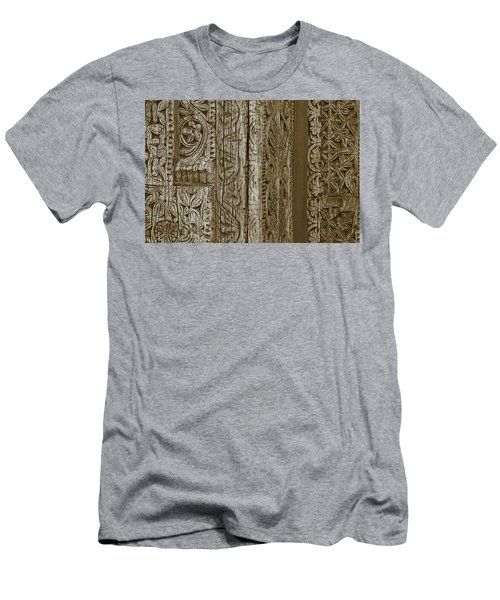 Carving - 2 Men's T-Shirt (Slim Fit) by Nikolyn McDonald