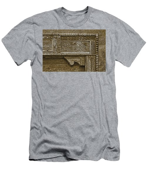 Carving - 4 Men's T-Shirt (Slim Fit) by Nikolyn McDonald