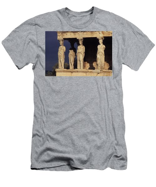 Caryatides At The Acropolis Men's T-Shirt (Athletic Fit)