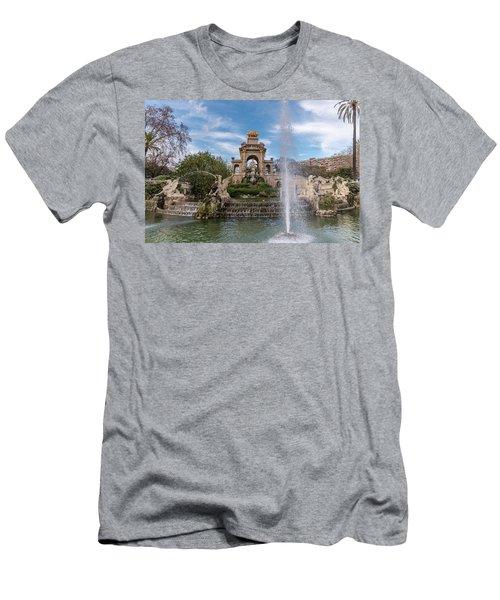 Cascada Monumental Men's T-Shirt (Athletic Fit)