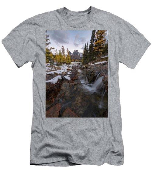 Cascading Men's T-Shirt (Athletic Fit)