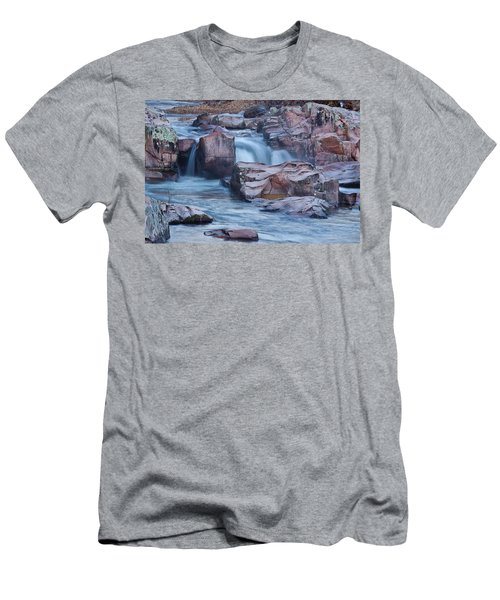 Caster River Shut-in Men's T-Shirt (Slim Fit) by Robert Charity