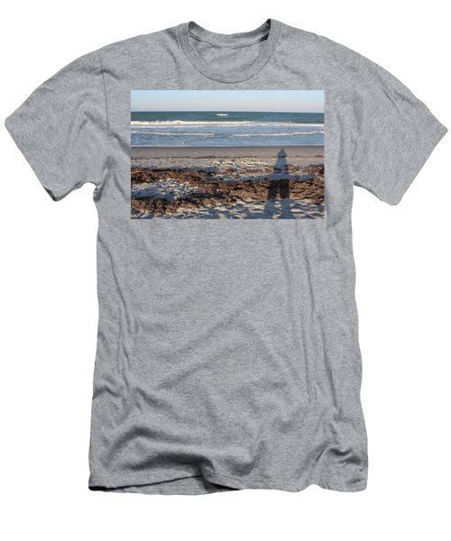 Casting A Shadow Men's T-Shirt (Athletic Fit)