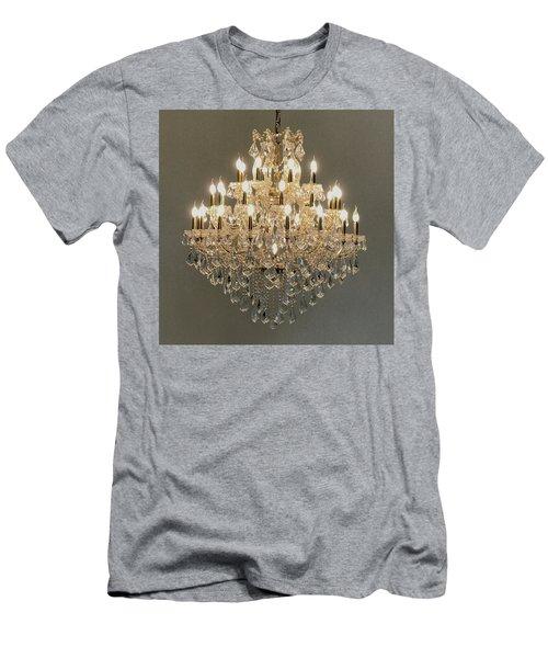 Castle Dining Room Men's T-Shirt (Athletic Fit)
