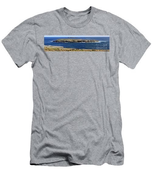 Men's T-Shirt (Athletic Fit) featuring the photograph Casuarina Islets by Stephen Mitchell