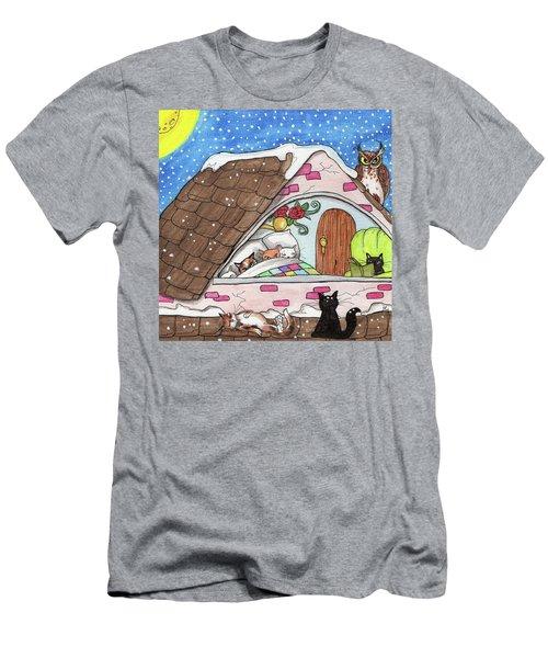 Cat Condo Men's T-Shirt (Athletic Fit)