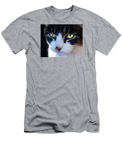 Cat Eyes Men's T-Shirt (Slim Fit) by Jana Russon