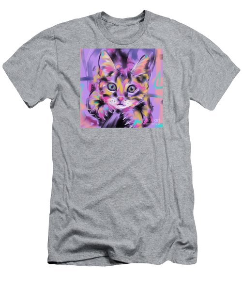 Cat Wild Thing Men's T-Shirt (Athletic Fit)