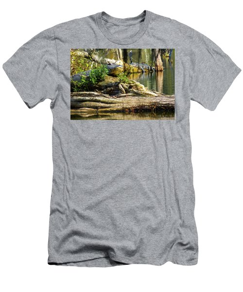 Catchin Some Rays Men's T-Shirt (Slim Fit) by Kimo Fernandez