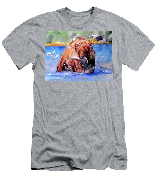 Catching Dinner Men's T-Shirt (Athletic Fit)