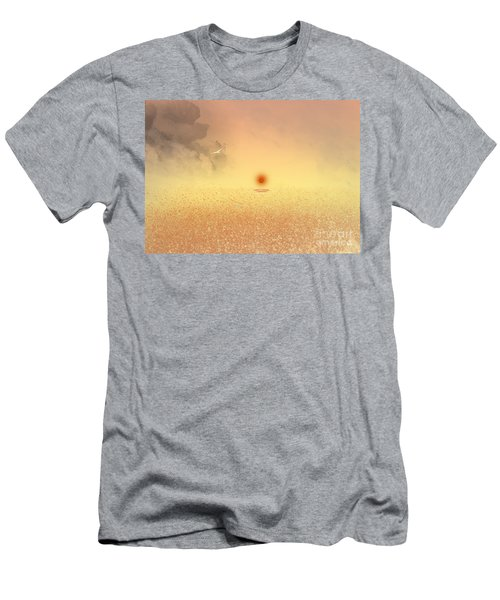 Catching The Light Men's T-Shirt (Slim Fit) by Trilby Cole