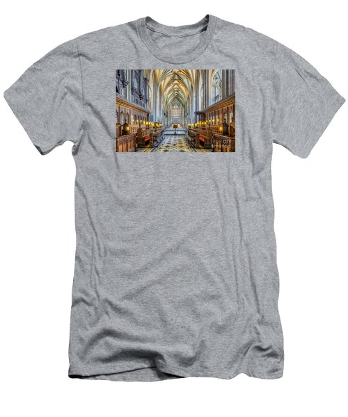 Cathedral Aisle Men's T-Shirt (Athletic Fit)