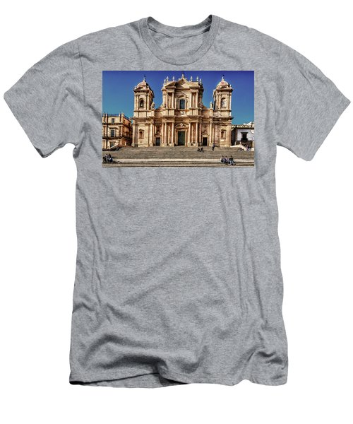 Cathedral II Men's T-Shirt (Slim Fit) by Patrick Boening