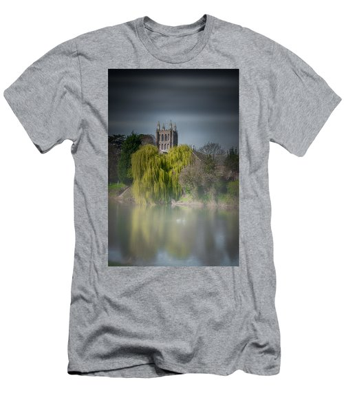 Cathedral In The Mist Men's T-Shirt (Athletic Fit)