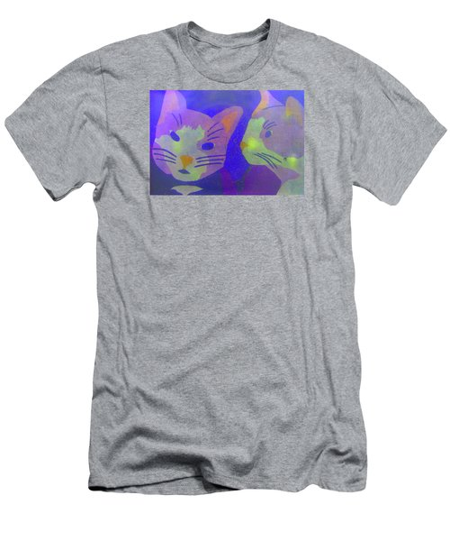 Cats On A Wall Men's T-Shirt (Athletic Fit)