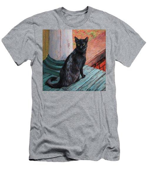 Cat's Pause Men's T-Shirt (Athletic Fit)