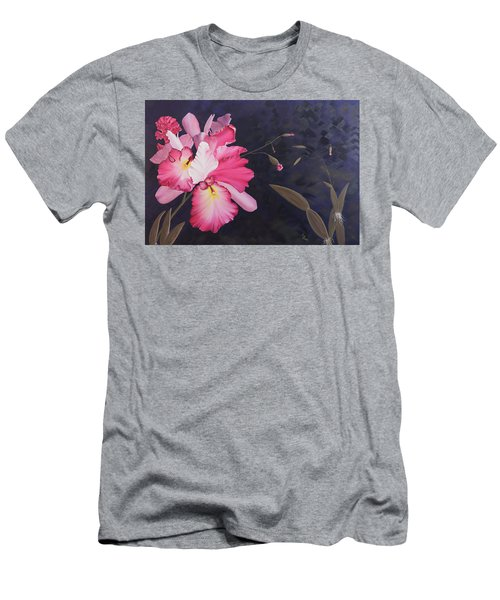 Cattleya Men's T-Shirt (Athletic Fit)