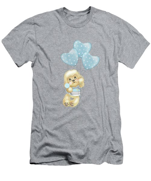 Cavapoo Toby Baby Men's T-Shirt (Athletic Fit)