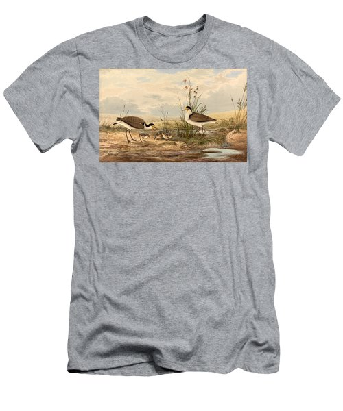 Cayley Masked Lapwing. Vanellus Miles Men's T-Shirt (Athletic Fit)